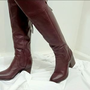 Franco Sarto Ollie Leather Over The Knee Boot